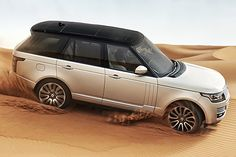 """The """"all new"""" 2013 Range Rover. Fake side vents? An Evoque roof? Ford headlights?? LOL. They killed this brand."""