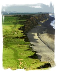 Between Sheringham and Weybourne -gorgeous Bob White photo of the North Norfolk Coast Walk