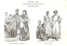 Late 19th Century India and Malaysia