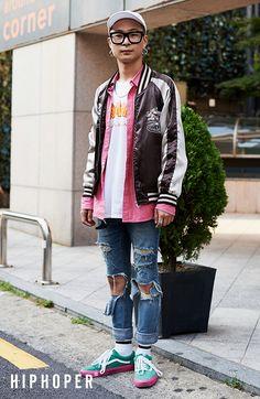 박선범 > Street Fashion   힙합퍼