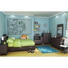 Modern Boys Bedroom Ideas ❤ liked on Polyvore