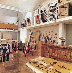 "TAPPAN on Instagram: ""Joan Miro's studio #ArtistHomes"""