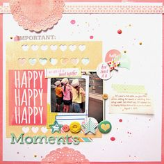 6 Ways to Embellish Scrapbook Pages Using a Series Cluster | Ashley Horton | Get It Scrapped
