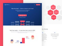 e-Learning Landing Page by Paulo Cunha for Pixelmatters