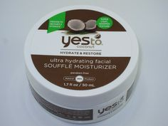 Yes to Coconut Ultra Hydrating Facial Souffle Moisturizer Review | http://www.musingsofamuse.com/2016/01/yes-to-coconut-ultra-hydrating-facial-souffle-moisturizer-review.html