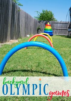 Fun Activities for Children :: Host Your Own Backyard Olympics