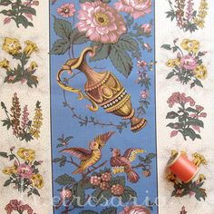 Chita de Alcobaça azul – Retrosaria French Fabric, Worms, Folklore, Fabric Patterns, The Good Place, Rooster, Portugal, Scrapbook, Knitting