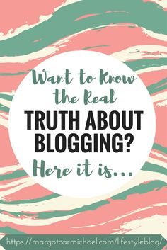 The truth about blogging full-time that successful bloggers aren't telling you and you NEED to know before making the jump!