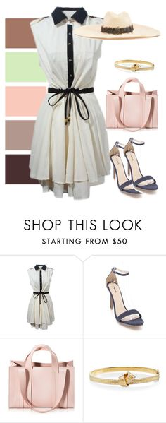 """""""dress"""" by masayuki4499 ❤ liked on Polyvore featuring Corto Moltedo, Carelle and Filù Hats"""