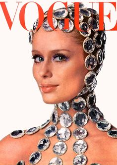 cMag454 - Vogue Magazine cover Lauren Hutton by Irving Penn / December 1968