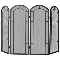 Found it at Wayfair - 4 Panel Wrought Iron Fireplace Screen