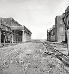 Charlestown 1865 immediately after Civil war bombardment