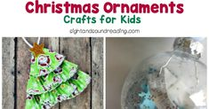 Christmas Ornaments will make Christmas tree unique. Here are some ideas for Christmas Ornaments - Crafts for Kids to make. How To Make Christmas Tree, Kids Christmas, Christmas Bulbs, Kindergarten Reading Activities, Kindergarten Crafts, Easy Preschool Crafts, Crafts For Kids To Make, Christmas Ornament Crafts, Help Teaching