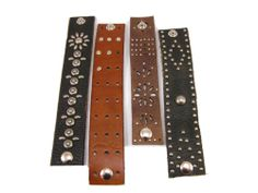 love these leather cuff bracelets