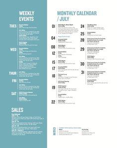 The OC Mix » July Calendar