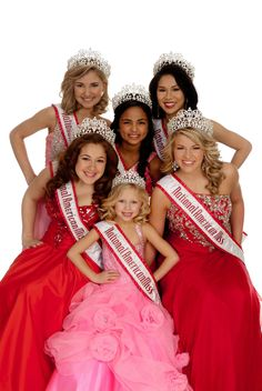 National American Miss Queens! We love NAM! Get your coaching for NAM state and nationals.