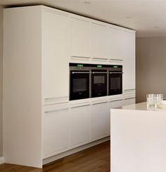 Minimalist Linear Kitchen from Harvey Jones