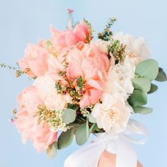 Soft pink peonies, charming sweet station and beautiful floral crown at this Plantation wedding in Pawleys Island, SC