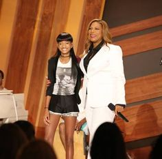 Queen Latifah and Willow Smith!