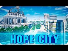 Minecraft - Climate Hope City Cinematics - Nature-Friendly City w/ Download (Guardian's Campaign) - YouTube