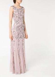 Sequin beaded gown