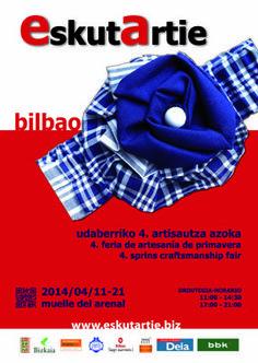 Feria de artesanía de primavera en Bilbao. #Bilbao #artesanía #vidrio #daviniadediego  www.daviniadediego.com