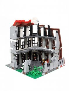 Abandoned Building: A LEGO® creation by NaNeto ... : MOCpages.com