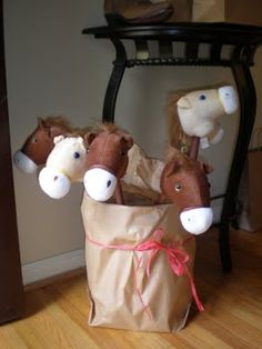 horses from dollar store