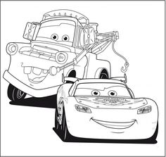 printable lightning mcqueen coloring pages
