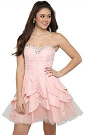 A cute dress good for home coming, prom, and any high school dance