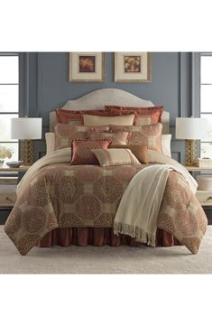 Bedding Bedding Sets Imported From Abroad Golden Luxury Round Bed Satin Jaquard Bedding Set Kingsize Duvetcover Pillowcase Ruffle Bedskirt Europe Fashion Lace Bedding Kit