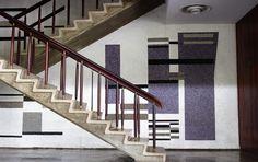 Escaleras del Aula Magna de la UCV / Caracas, Venezuela.