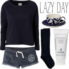 """""""Outfit 79: Lazy Day"""" by red-head426 ❤ liked on Polyvore"""