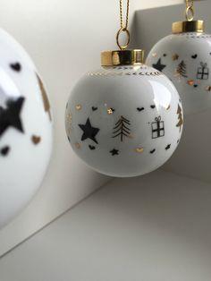 Boule de Noël - Perle de KaOlin