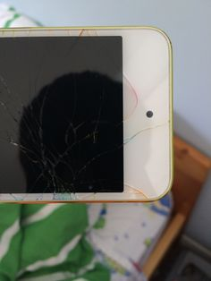 Sans titre — Cracked ipod :( with colors :)
