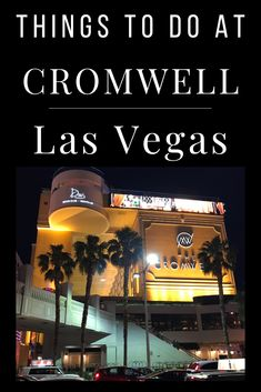 If visiting the Las Vegas Strip, ensure you stop by Cromwell, a boutiqe resort in the middle of the action. Inside, we cover some notable things to do at Cromwell and nearby in Las Vegas. With nuerous bars, lounges and great gambling value, Cromwell is among our favorite places to hang out in vegas. Small Boutique Hotels, Las Vegas Resorts, Las Vegas Strip, Lounges, Hanging Out, Grand Canyon, Things To Do, Middle, Action