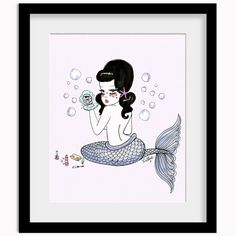 Merbettie Print by Valfre | Valfré Get On Valfre.com