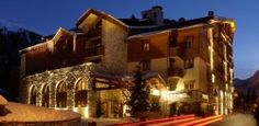 Hotel Christiania, Val D'Isere, France  Full of rustic 1950s French charm - http://www.movemountainstravel.com/offer/hotel-christiania/