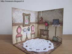 A little room in a card :)