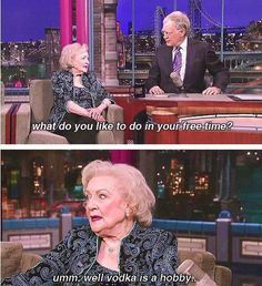 oh Betty...you always make me smile!