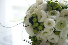 One of our simple and elegant bridal bouquets with rich green hypercium berries Bridal Bouquets, Wedding Pictures, Big Day, Berries, Wedding Inspiration, Elegant, Simple, Green, Classy
