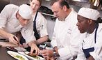 #Behindthescenes: Photos of the Viking Commercial Kitchen at Aureole