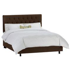 Hannalore Bed in Chocolate at Joss & Main
