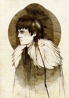 Jon Snow, by Elia Mervi