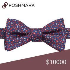"Coming soon Product Details Distinguish yourself from the crowd with this men's Bow Tie Tuesday bow tie.  PRODUCT FEATURES 4.25"" x 2.5"" Pretied design Adjustable strap FABRIC & CARE Silk, polyester Dry clean Accessories"