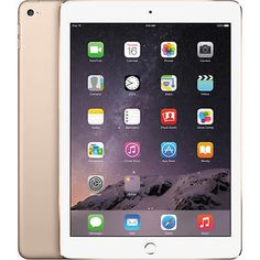 "Apple iPad Air 2 WiFi 128GB 9.7"" IPS Tablet - White & Gold - MH1J2LL/A"