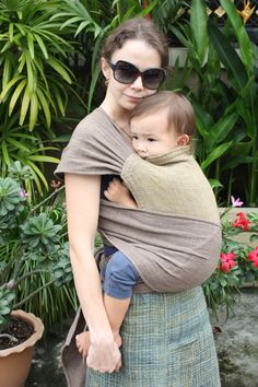 BaBy SaBye Wrap Mei Tai sling---- the perfect cross between a mei tei carrier and a wrap!