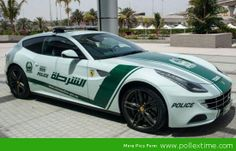 Just Try to Outrun the World's Fastest, Most Expensive Police Car Fleet
