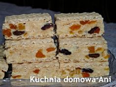 Cooking Tips, Cooking Recipes, Polish Recipes, Polish Food, Homemade Cakes, Cheddar Cheese, Baked Goods, Food To Make, Sweet Treats