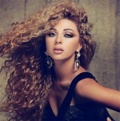 Myriam Faris...love her hair...